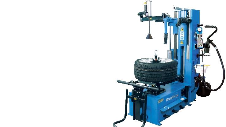 Professionelle Reifenmontiermaschine