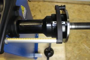 Kalibrierung Ravaglioli Wuchtmaschine 11