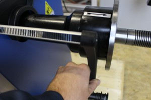 Kalibrierung Ravaglioli Wuchtmaschine 14
