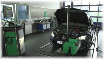 Gutmann SEG V im Einsatz in Werkstatt