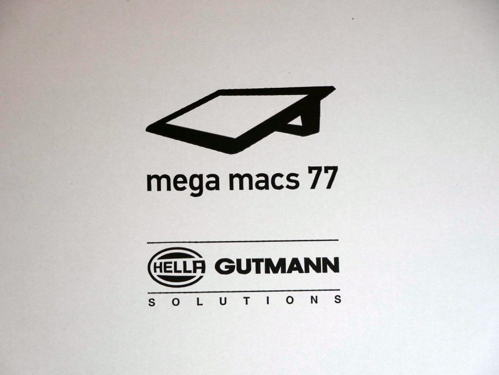 mega macs 77 Druck auf Karton