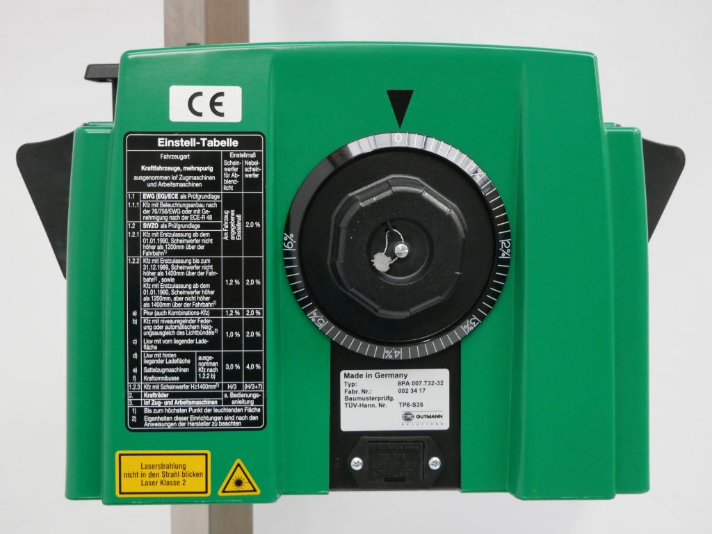 Scheinwerfereinstellgerät Hella Gutmann SEG IV DLLX SE