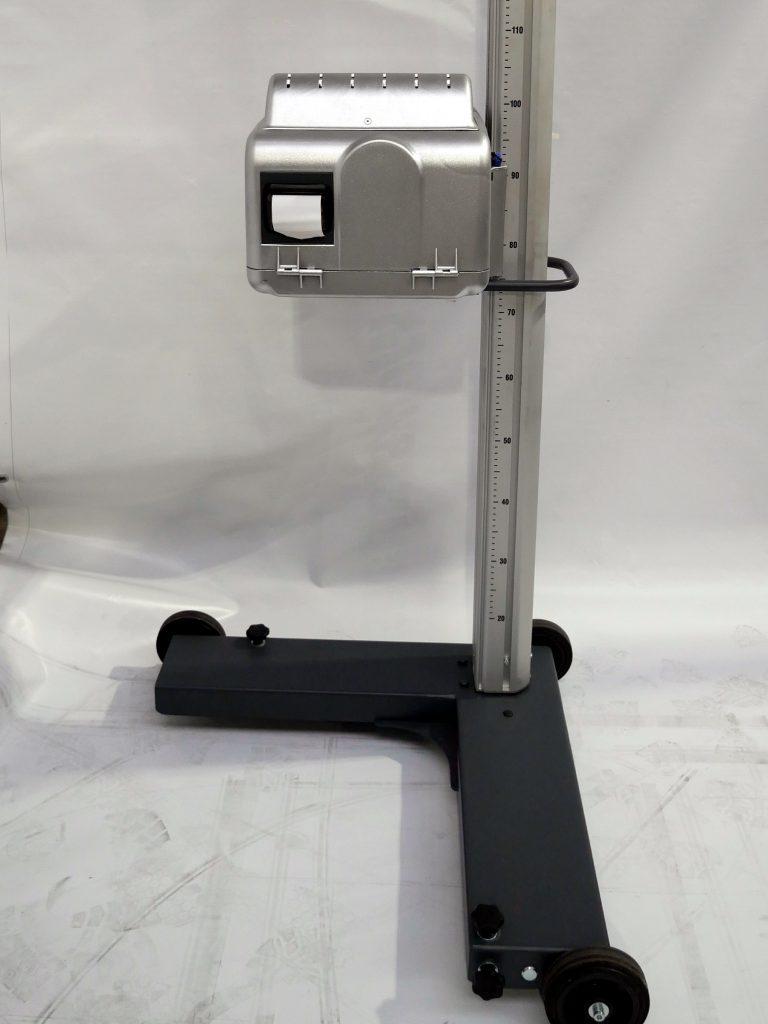 Beissbarth MLD 815 Scheinwerfereinstellgerät Rückansicht