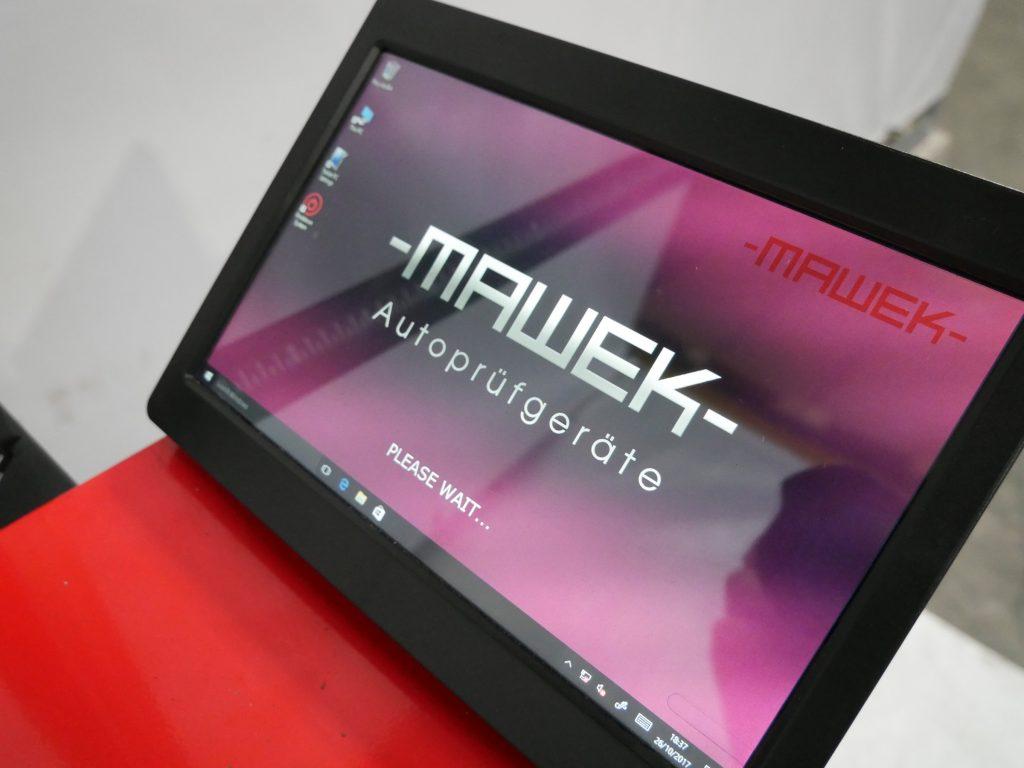 Scheinwerfereinstellgerät Mawek SEG06CTR Monitor