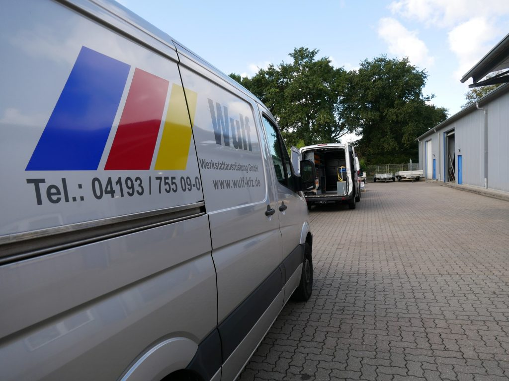 Wulf Werkstattausrüstung Van